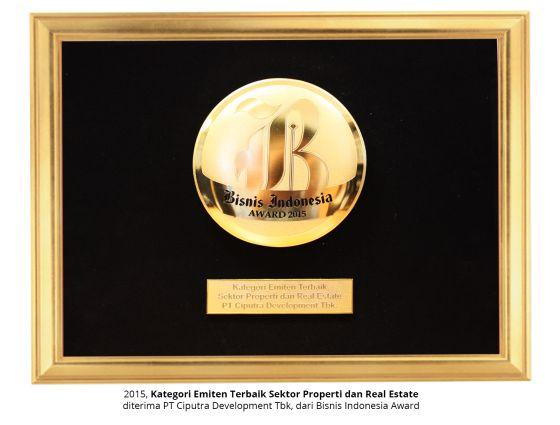 Bisnis Indonesia Award 2015